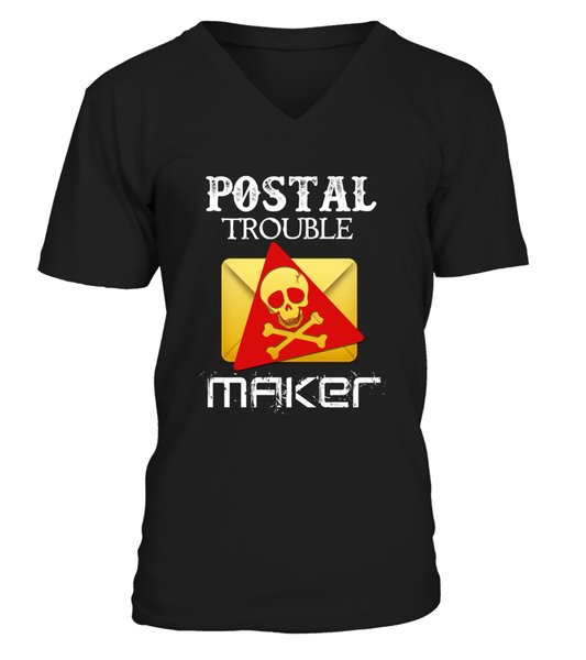 Postal Trouble Maker Shirt - Giggle Rich - 9