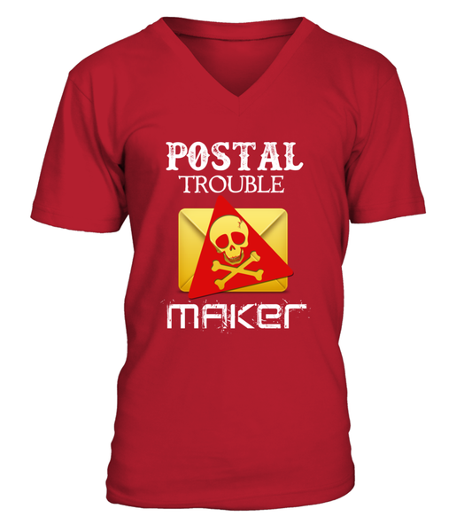 Postal Trouble Maker Shirt - Giggle Rich - 11