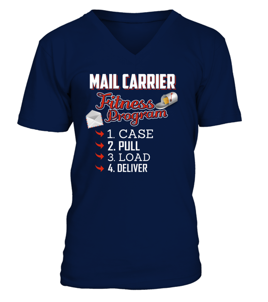 Mail Carrier Fitness Program Shirt - Giggle Rich - 5