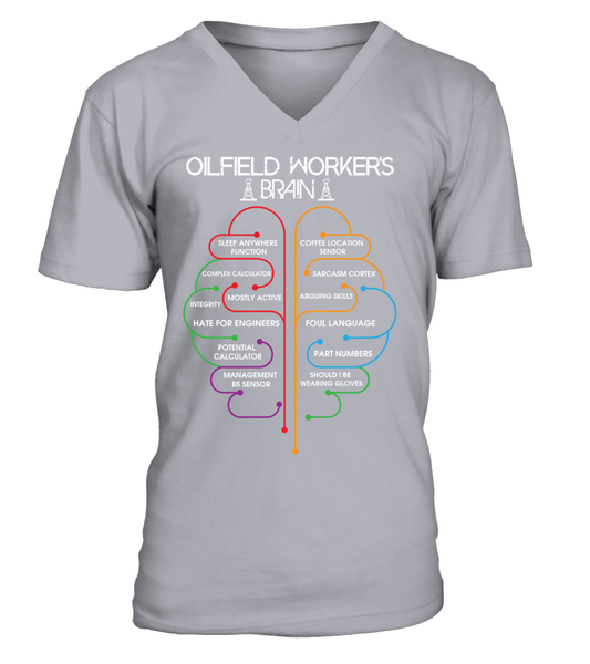 Oilfield Workers Brain Shirt - Giggle Rich - 6