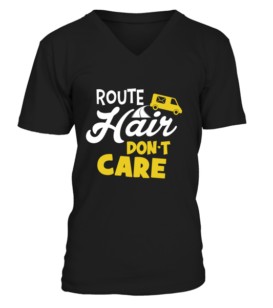Route Hairs But Postal Workers Don't Care Shirt - Giggle Rich - 5