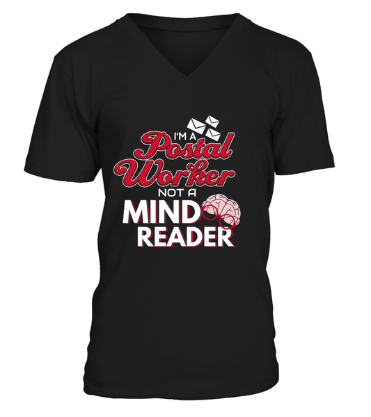 I'M A Postal Worker Not A Mind Reader Shirt - Giggle Rich - 1