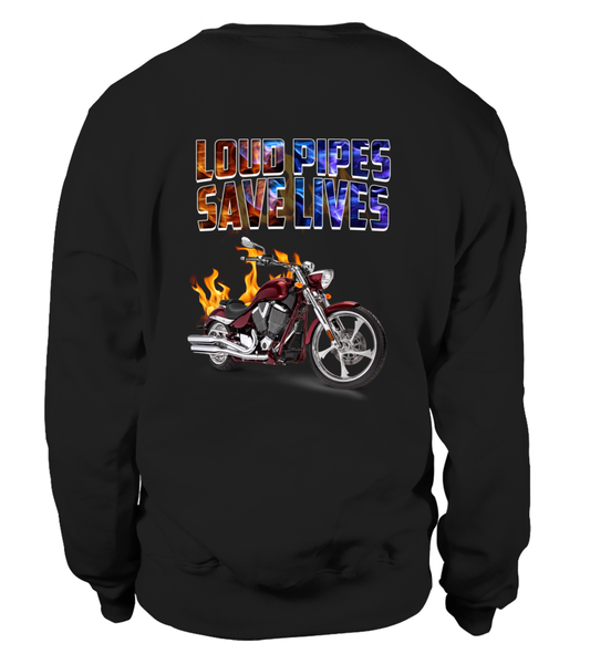 Loud Pipes Save Lives Shirt - Giggle Rich - 1
