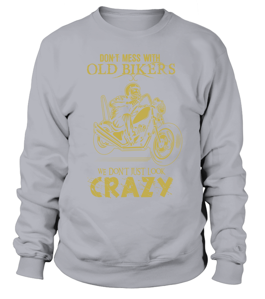 Don't Mess With Old Bikers Shirt - Giggle Rich - 5