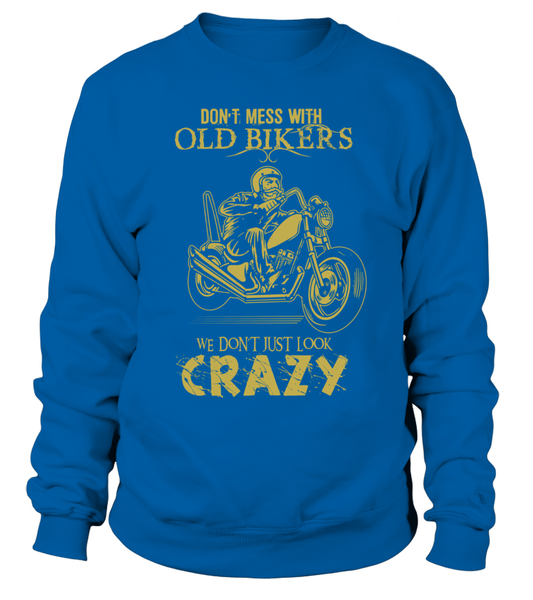 Don't Mess With Old Bikers Shirt - Giggle Rich - 4