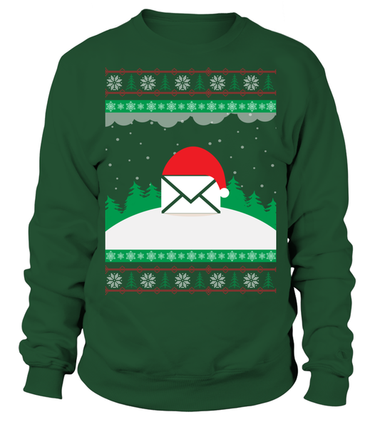 Postal Workers Ugly Christmas Sweater D3 Shirt - Giggle Rich - 1
