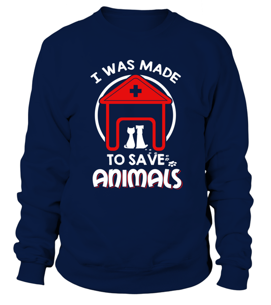 I Was Made To Save Animals Shirt - Giggle Rich - 3
