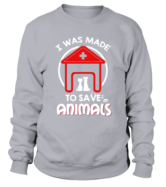 I Was Made To Save Animals Shirt - Giggle Rich - 4