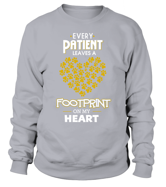 Every Patient Leaves A Footprint On My Heart Shirt - Giggle Rich - 5