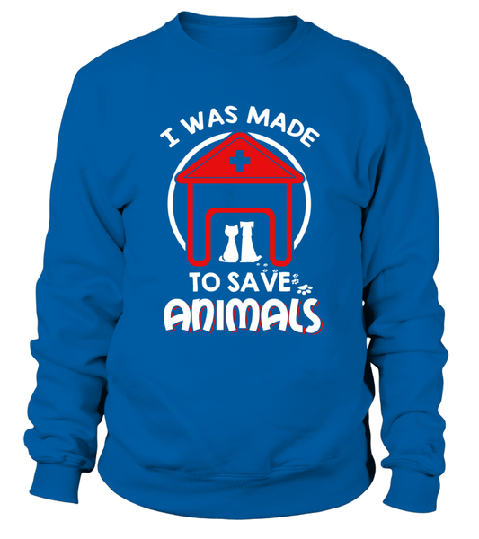 I Was Made To Save Animals Shirt - Giggle Rich - 2