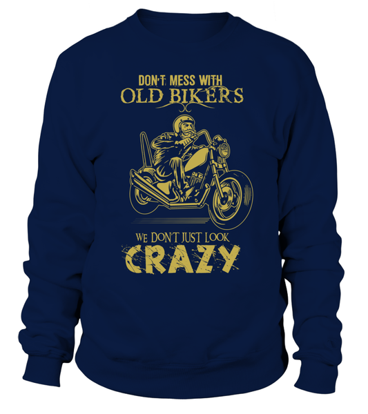Don't Mess With Old Bikers Shirt - Giggle Rich - 3