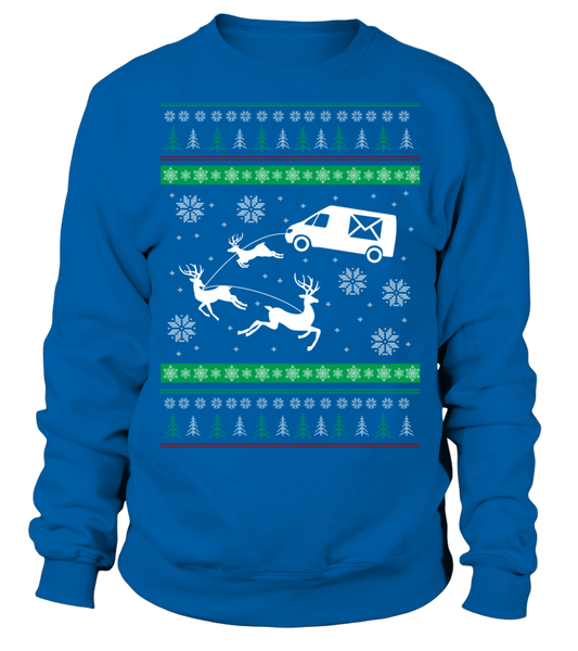 Postal Workers Ugly Christmas Sweater D1 Shirt - Giggle Rich - 3