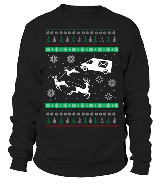 Postal Workers Ugly Christmas Sweater D1 Shirt - Giggle Rich - 4
