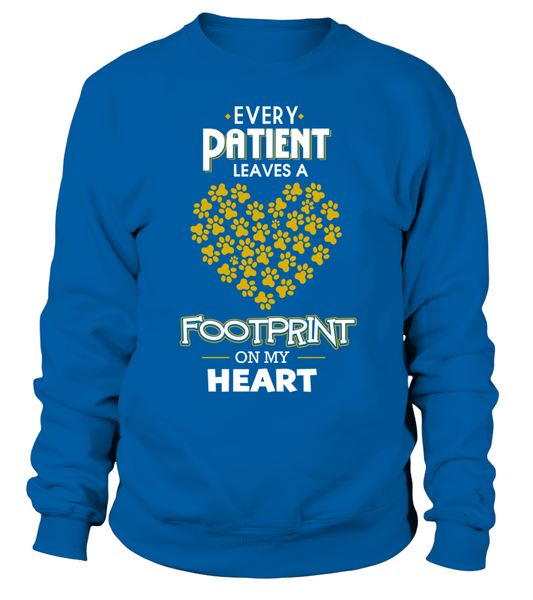 Every Patient Leaves A Footprint On My Heart Shirt - Giggle Rich - 4