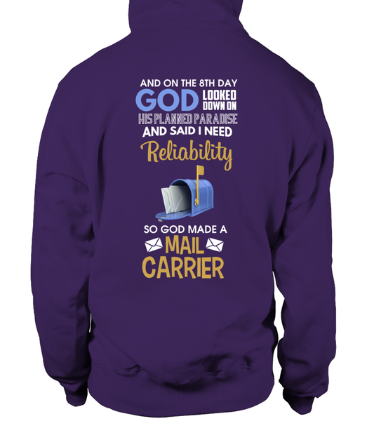 On The 8th Day God Made a Mail Carrier Shirt - Giggle Rich - 6