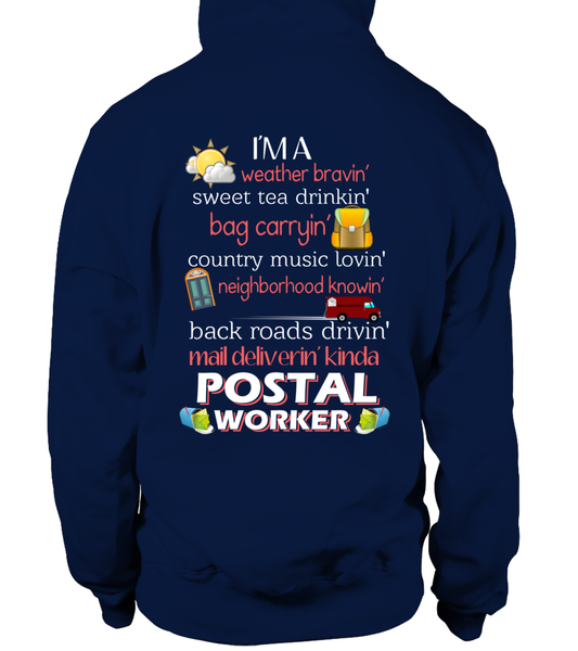 I'm A Postal Worker Shirt - Giggle Rich - 8