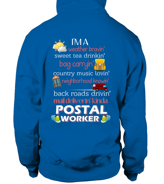 I'm A Postal Worker Shirt - Giggle Rich - 7