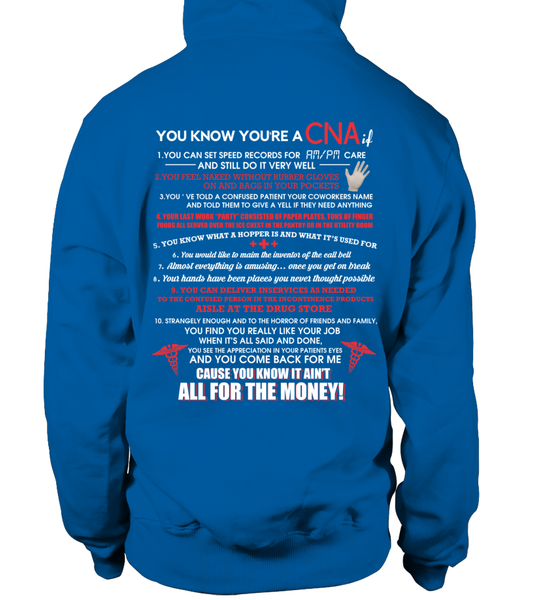 You Know You're A CNA If Shirt - Giggle Rich - 6