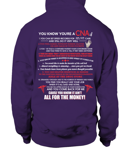 You Know You're A CNA If Shirt - Giggle Rich - 5