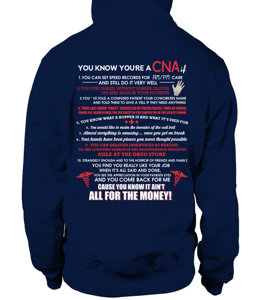 You Know You're A CNA If Shirt - Giggle Rich - 7