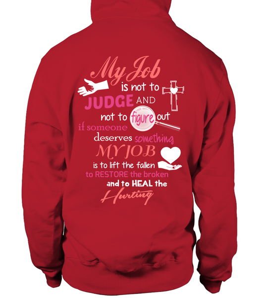 Minister Job Is Not To Judge Shirt - Giggle Rich - 22