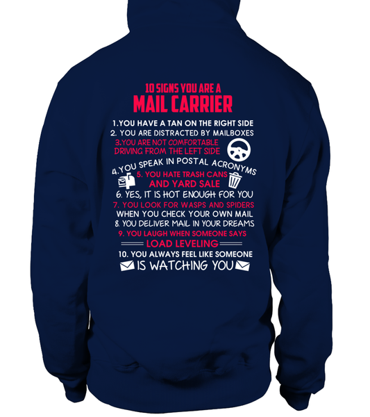 10 Signs That You Are A Mail Carrier Shirt - Giggle Rich - 7