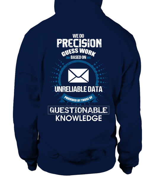 Postal Workers Do Precision Guess Work Shirt - Giggle Rich - 18