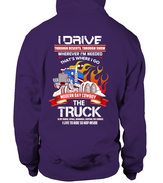 Modern Day Cowboy, The TRUCK Shirt - Giggle Rich - 16