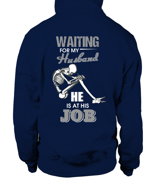 Roughneck Wife Waiting For Her Husband Shirt - Giggle Rich - 6