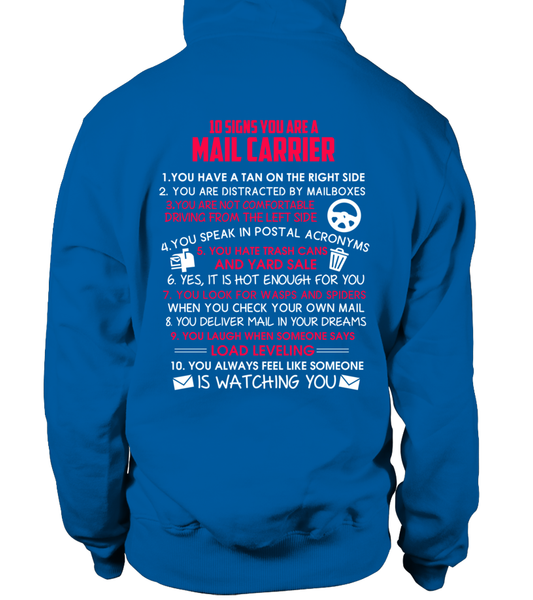 10 Signs That You Are A Mail Carrier Shirt - Giggle Rich - 13