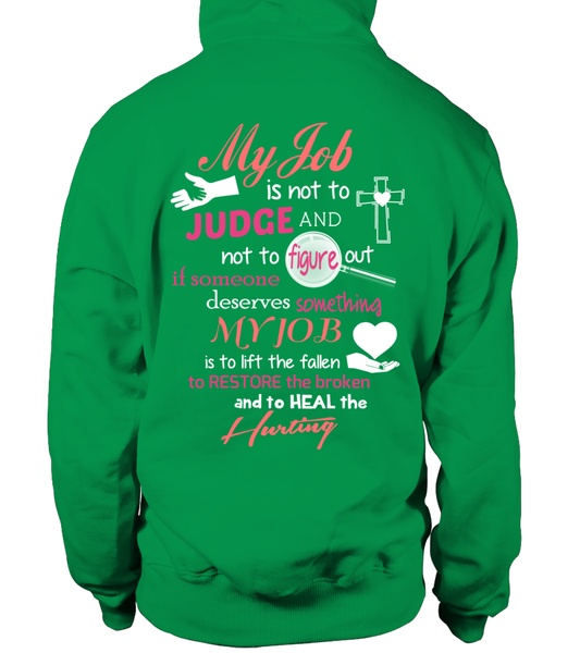 Minister Job Is Not To Judge Shirt - Giggle Rich - 28