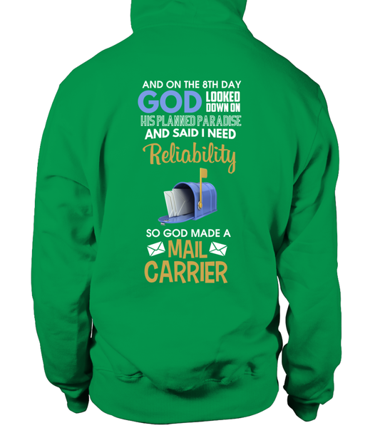 On The 8th Day God Made a Mail Carrier Shirt - Giggle Rich - 20