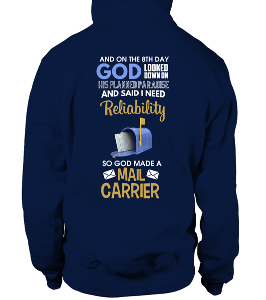 On The 8th Day God Made a Mail Carrier Shirt - Giggle Rich - 7