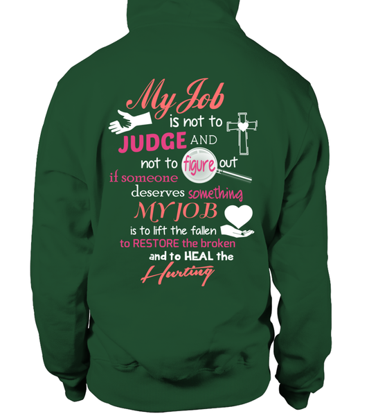 Minister Job Is Not To Judge Shirt - Giggle Rich - 26