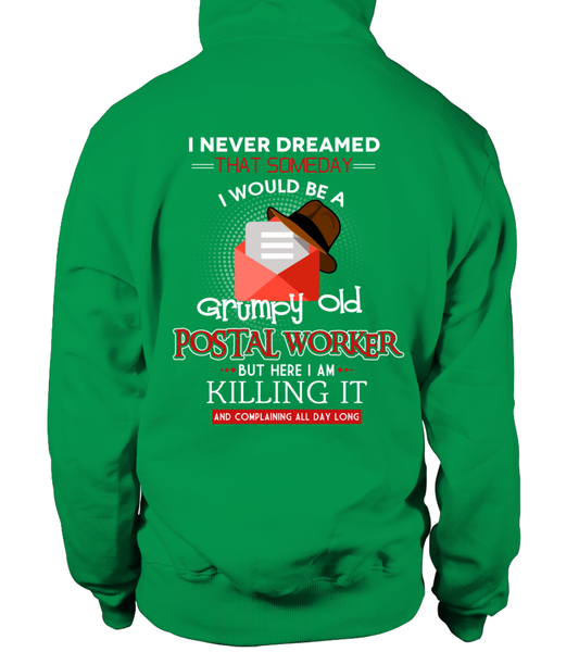 Grumpy Old Postal Worker & Killing It Shirt - Giggle Rich - 20