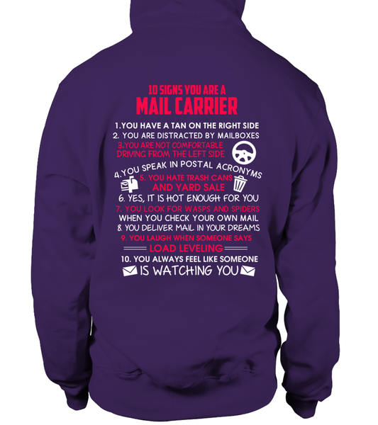 10 Signs That You Are A Mail Carrier Shirt - Giggle Rich - 5