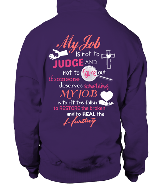 Minister Job Is Not To Judge Shirt - Giggle Rich - 18