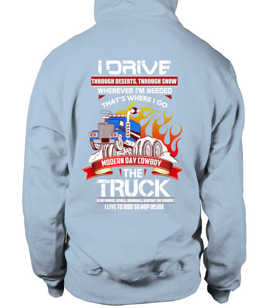 Modern Day Cowboy, The TRUCK Shirt - Giggle Rich - 22