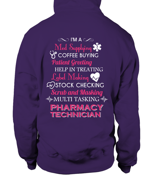 Multi Tasking Pharmacy Technician Shirt - Giggle Rich - 3