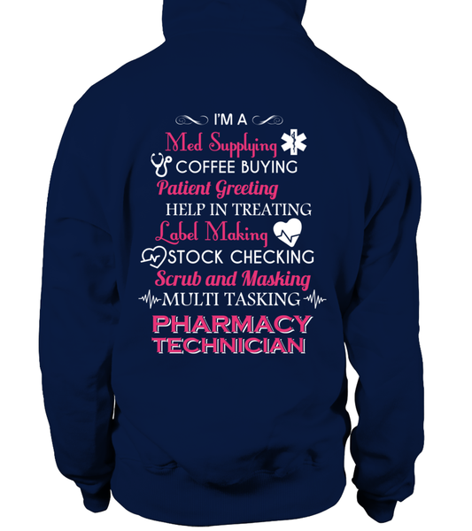 Multi Tasking Pharmacy Technician Shirt - Giggle Rich - 5