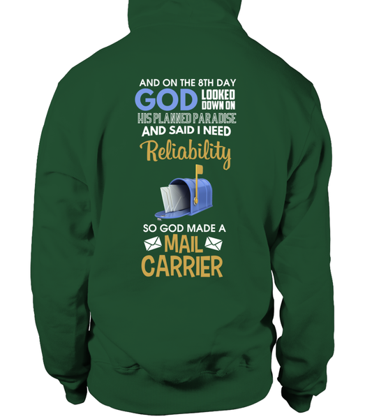 On The 8th Day God Made a Mail Carrier Shirt - Giggle Rich - 18