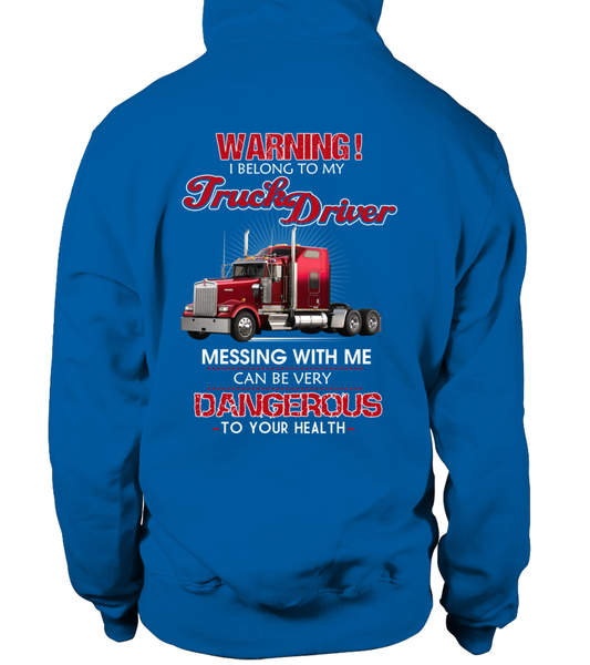 Don't Mess With Truck Driver Shirt - Giggle Rich - 18