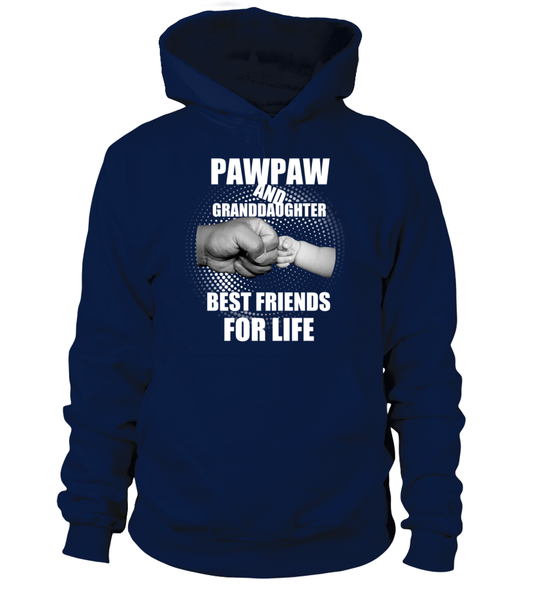 PawPaw & Granddaughter Best Friends For Life Shirt - Giggle Rich - 1