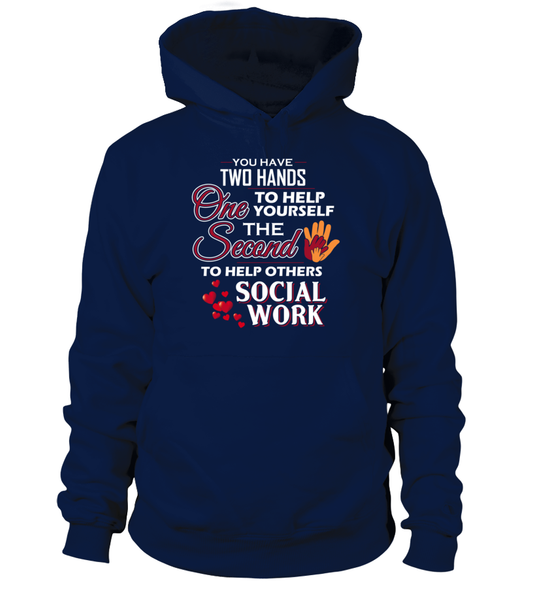 Social Worker Hands Shirt - Giggle Rich - 6