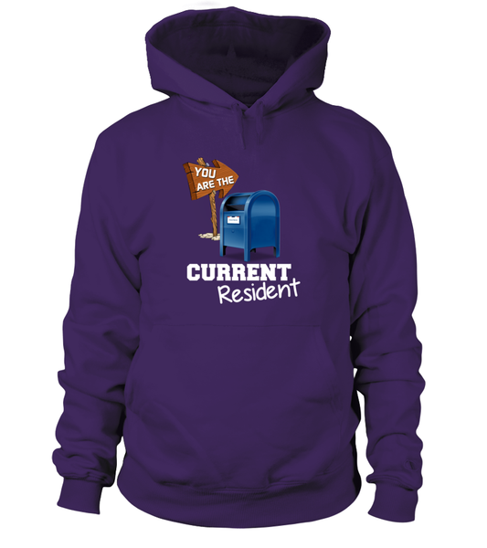 You Are The Current Resident - Postal Worker Shirt - Giggle Rich - 2