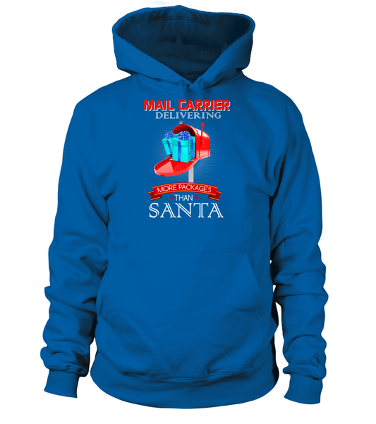 Mail Carriers Delivering More Packages Than Santa Shirt - Giggle Rich - 12