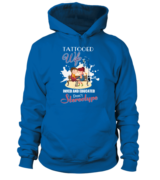 Tattooed Wife Inked And Educated Shirt - Giggle Rich - 7