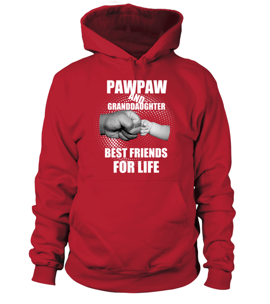PawPaw & Granddaughter Best Friends For Life Shirt - Giggle Rich - 4