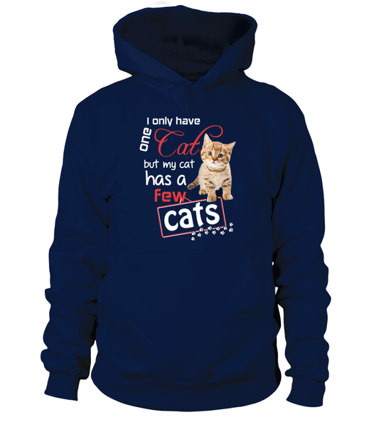 I Only Have One Cat Shirt - Giggle Rich - 14