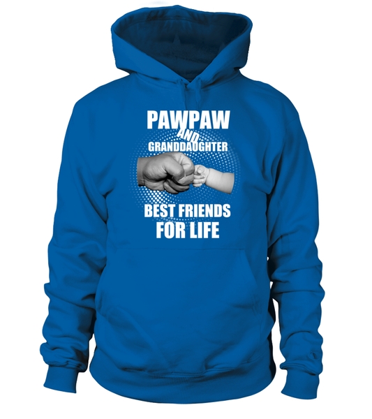 PawPaw & Granddaughter Best Friends For Life Shirt - Giggle Rich - 5
